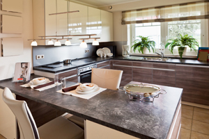 <strong>Modern Kitchen<span><b>in</b>Residental</span></strong><i>→</i>